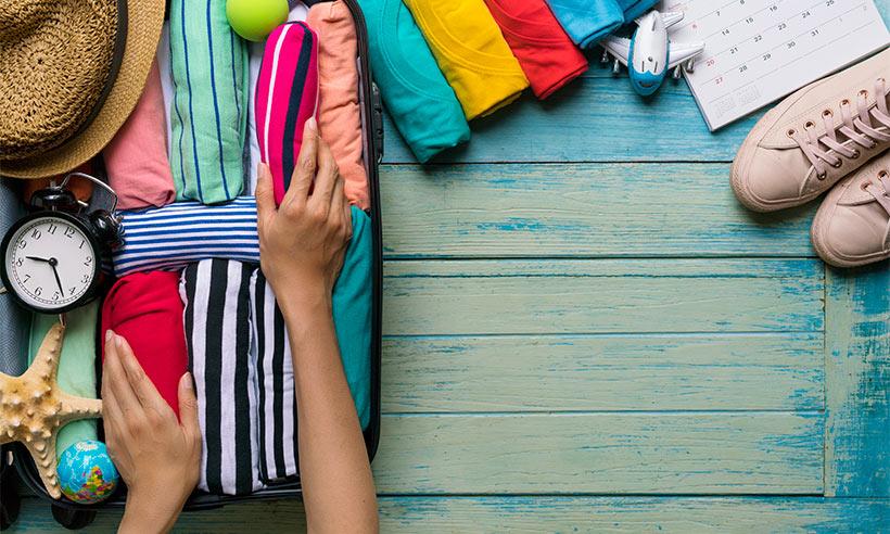 Bien préparer ses valises pour le voyage d'été